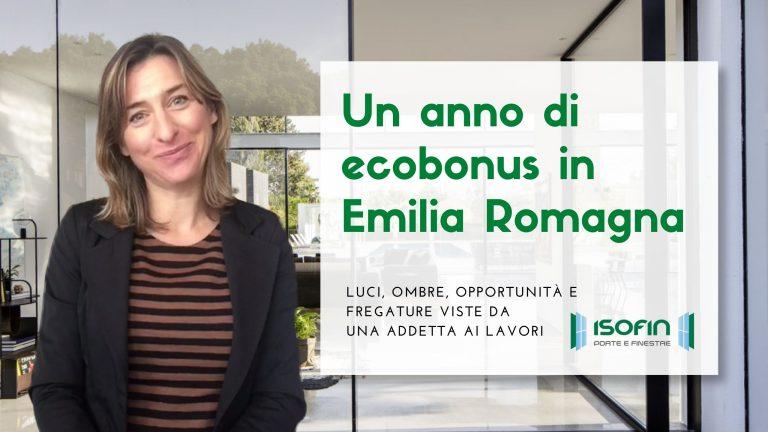 ecobonus_emilia-romagna_2020_2021_isofin_cento: foto di Ilaria Malaguti con titolo dell'articolo in verde e bianco