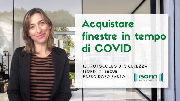 serramenti_a_ferrara_cento_covid_isofin: foto di Ilaria Malaguti con titolo dell'articolo in verde e bianco