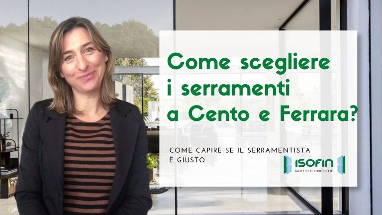 come_scegliere_gli_infissi_isofin_cento_emilia_romagna: foto di Ilaria Malaguti con titolo dell'articolo in verde e bianco