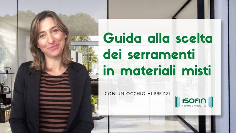 materiali_per_infissi_isofin_cento_ferrara: foto di Ilaria Malaguti con titolo dell'articolo in verde e bianco