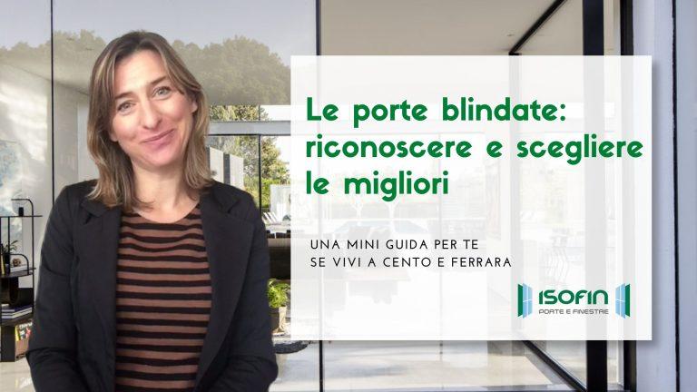 porte_blindate_cento_ferrara_isofin: titolo dell'articolo con foto di Ilaria Malaguti
